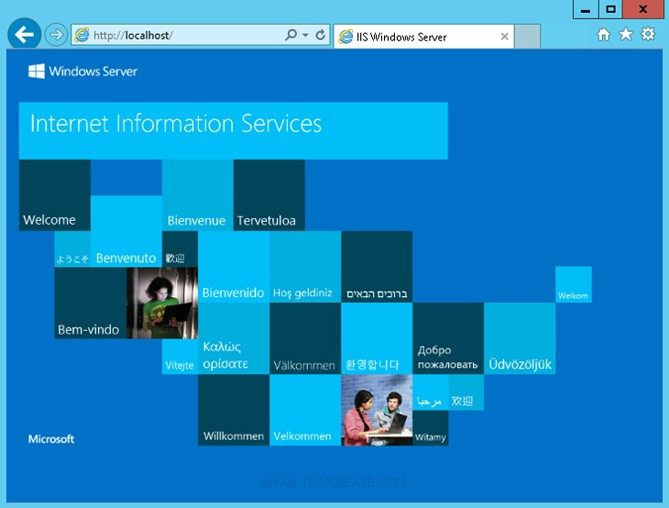 Windows Server 2012 IIS Web Server