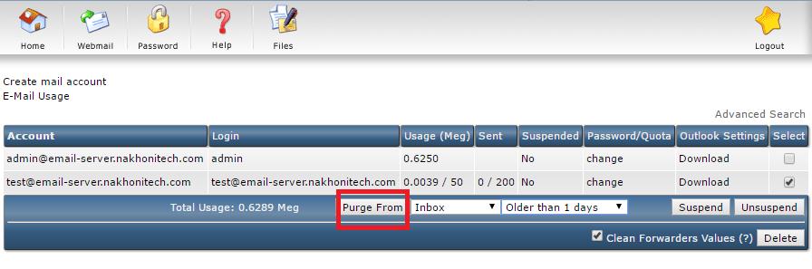 วิธีลบ E-Mail เก่าออกจากกล่อง Inbox